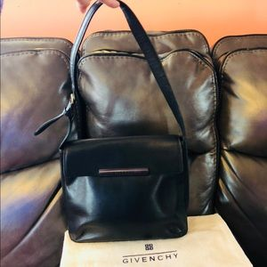 Givenchy Bags - Authentic Givenchy Black Leather Shoulder bag